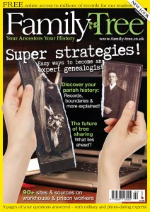 Family Tree magazine February 2013 cover 212x2